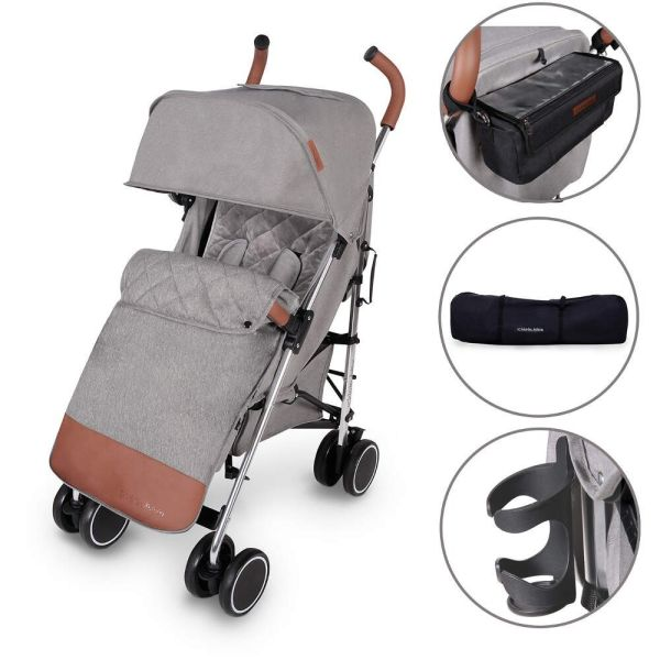 DISCOVERY STROLLER PRIME (GREY ON SILVER)