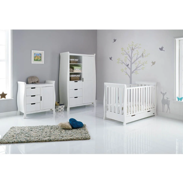 Stamford Mini 3 Piece Room Set - White