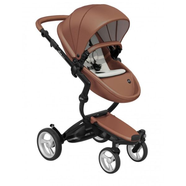 Xari 3-in-1 Pushchair (Camel Flair/Black Chassis)