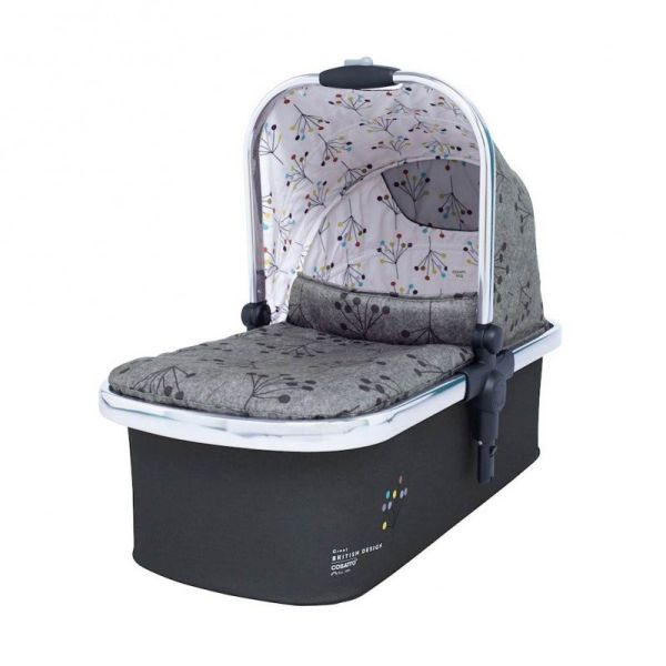 Wow XL Carrycot (to add for 2nd child) - Hedgerow