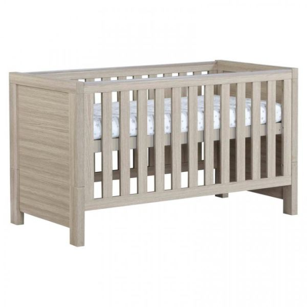Luno Cot Bed - (Oak)