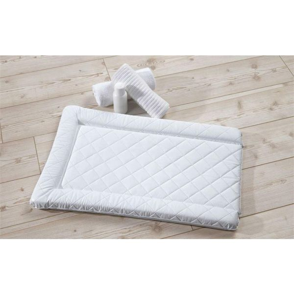 Quilted Changing Mat - White