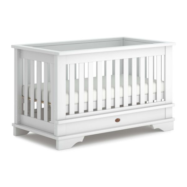 Eton Convertible Plus Cot Bed (Barley White)
