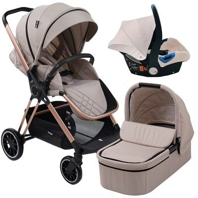 "AM to PM by Christina Milian - MB250 Nude ""Victoria"" Travel System"