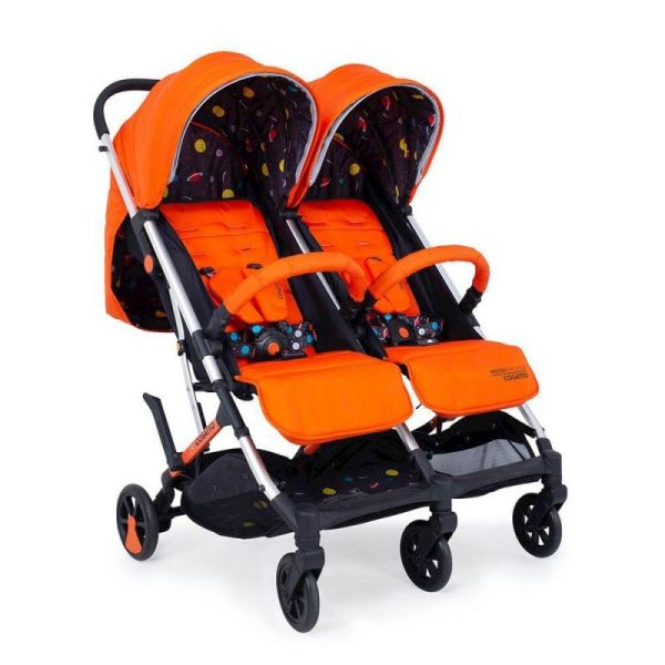 Woosh Double Stroller - Spaceman