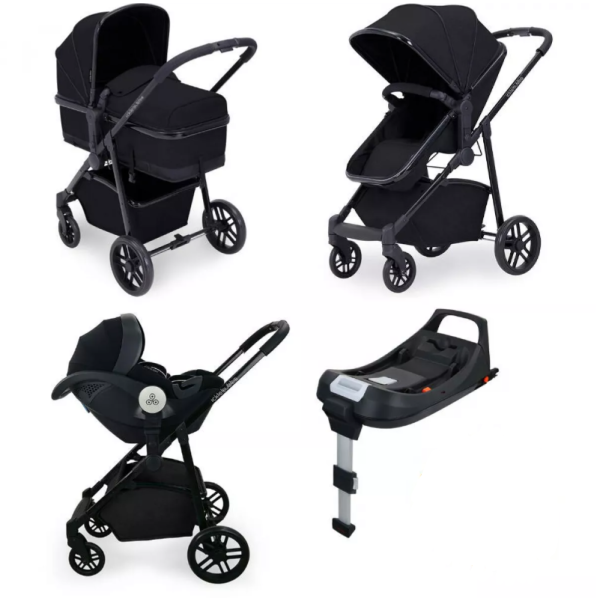 Moon Travel System iSize (Black)