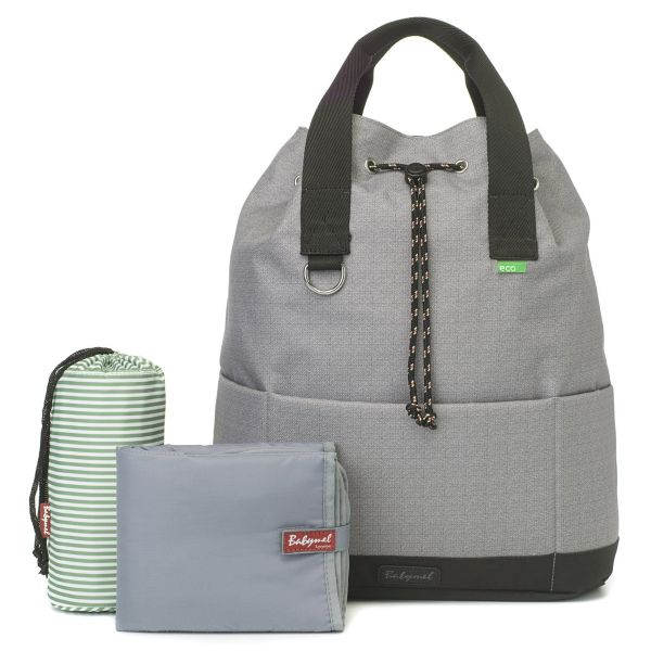baby changing back pack Top 'n' Tail eco (Grey)