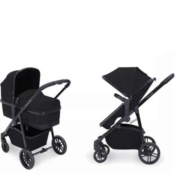 Moon 2-in-1 Carrycot & Pushchair (Black)