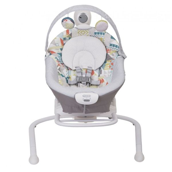Duet Sway with Portable Rocker Swing (Patchwork)