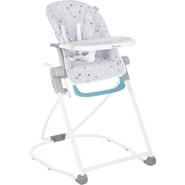 Highchair Compact (Grey/Patterns)