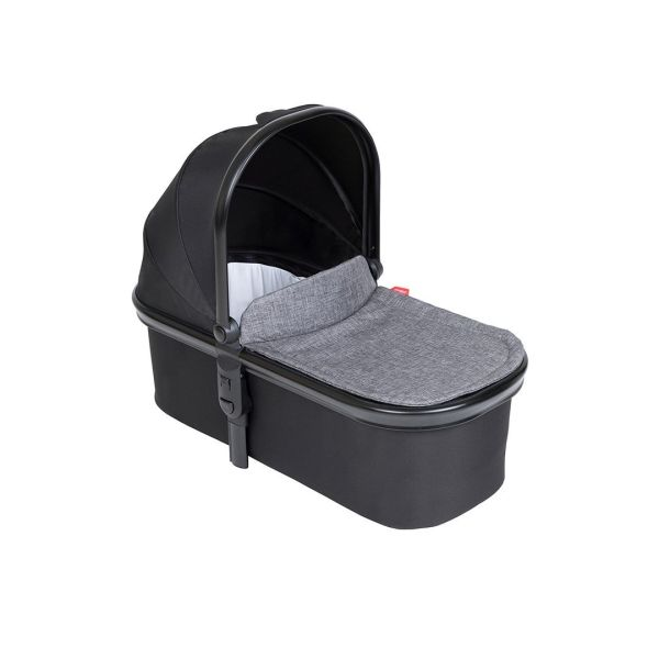 Snug Carry Cot and Liner UK - Charcoal
