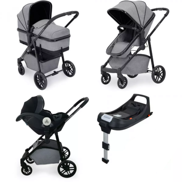 Moon Travel System Black iSize (Space Grey)