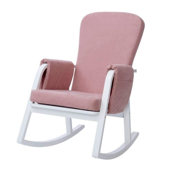 Dursley Rocker Chair - Blush Pink