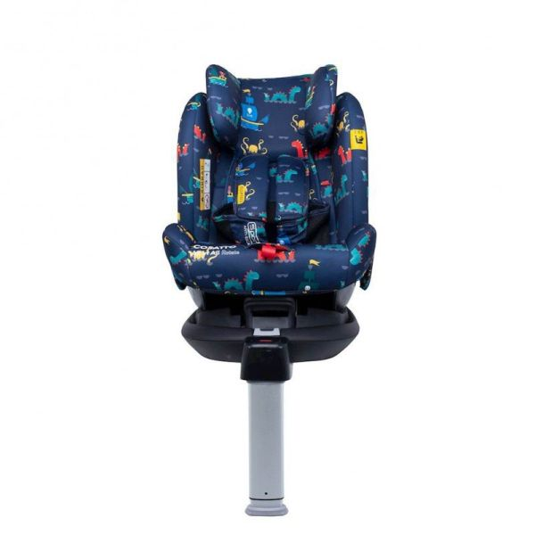 All in All Rotate 0+/1/2/3 ISOFIX Car Seat - Sea Monsters