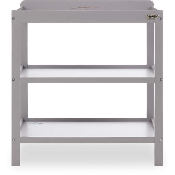Open Changing Unit - Warm Grey