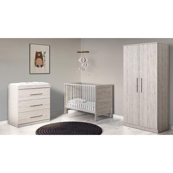 Grantham Mini 3 Piece Furniture Set (Grey Oak)