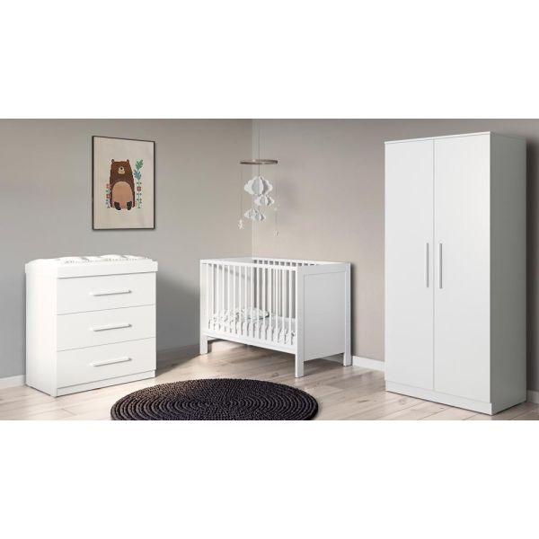 Grantham Mini 3 Piece Furniture Set (White)