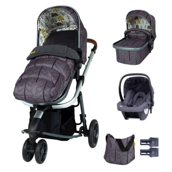 Giggle 3 Marvellous Bundle (5pcs) - Fika Forest with Graphite Hold Car Seat