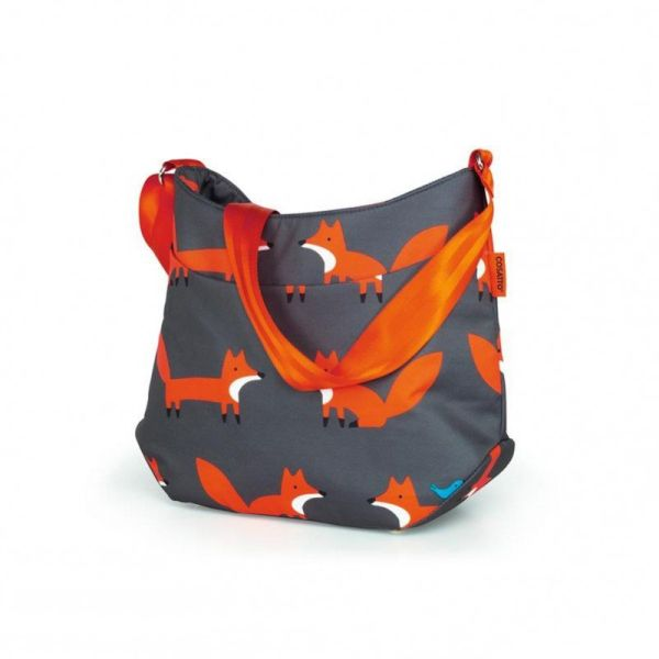 Deluxe Changing Bag - Charcoal Mister Fox