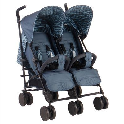 """AM-PM Tiger """"Chelsea"""" Double Stroller"""