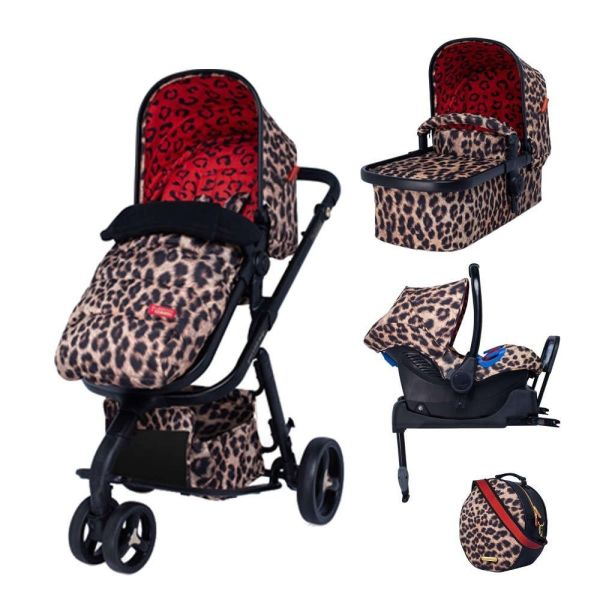 Giggle 3 Hear Us Roar Whole 9 Yards Bundle with Hold Car Seat & isofix