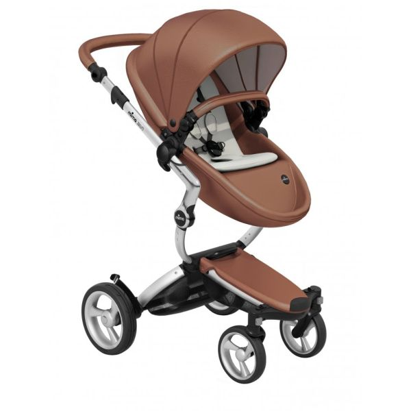 Xari 3-in-1 Pushchair (Camel Flair/Aluminium Chassis)