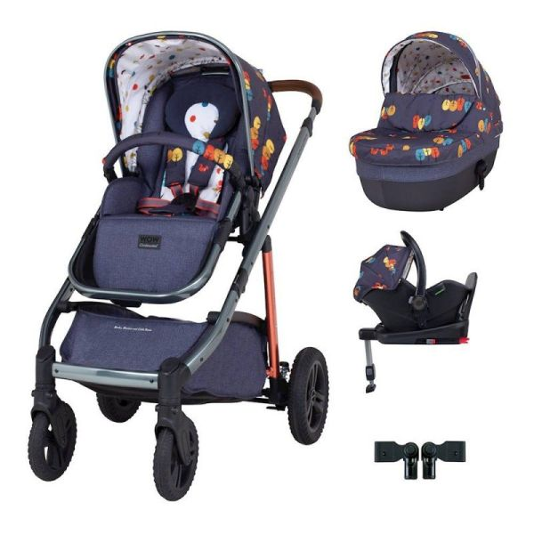 Wow Continental I-Size Travel System Bundle (Parc)