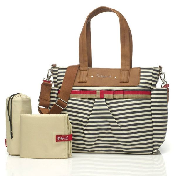 Baby changing bag cara edition (Navy stripe)