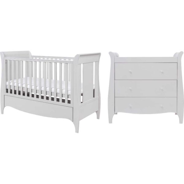 Tutti Bambini Roma 2 Piece Furniture Room Set (Dove Grey)