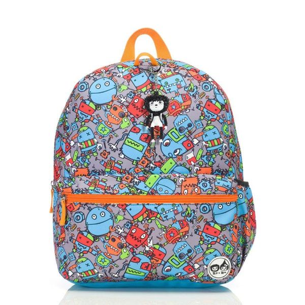 Junior Backpack 4+ (Robot blue)