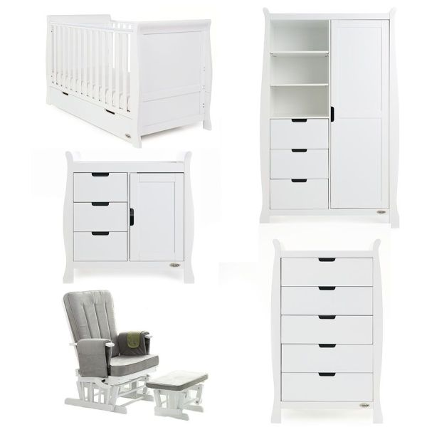 Stamford Classic 5 Piece Room Set - White