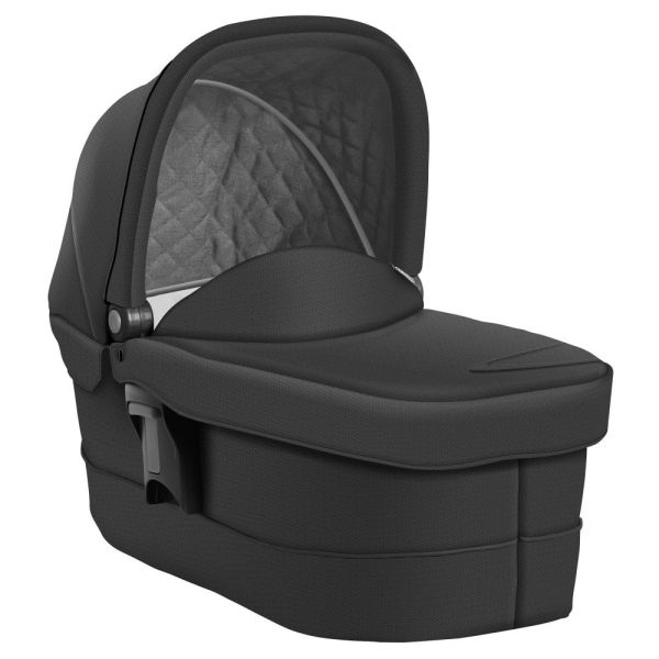 Evo Luxury Carrycot (Black/Grey)