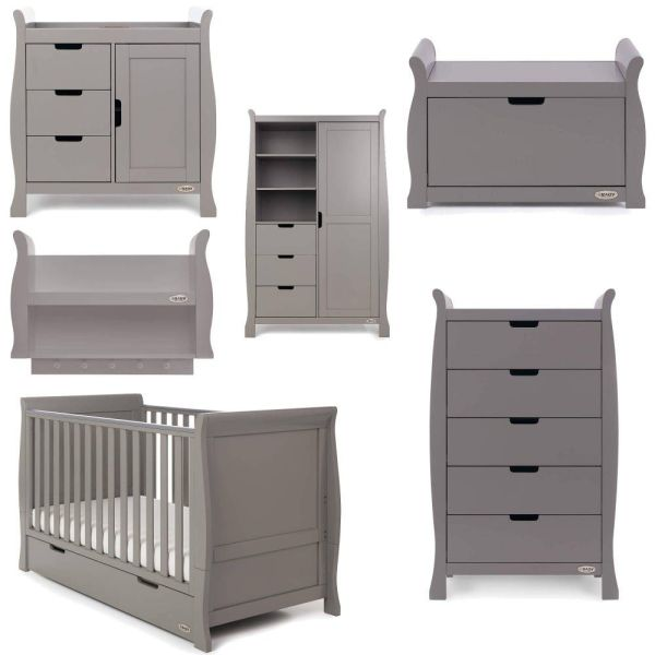 Stamford Classic 7 Piece Room Set - Taupe Grey