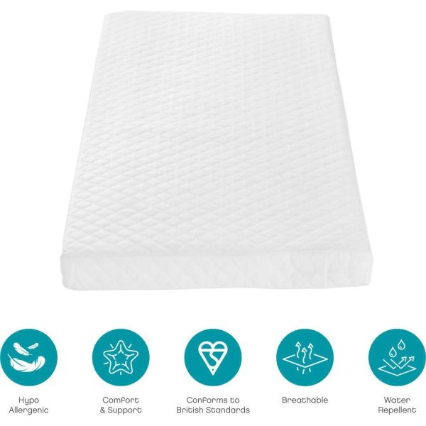 Pocket Sprung Cot Mattress (60 x 120 cm)