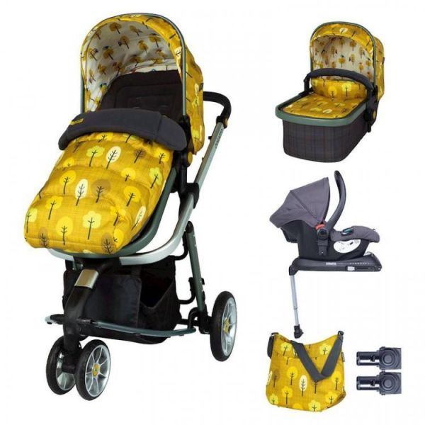 Giggle 3 Whole 9 Yards Hold Isofix Travel System Bundle - Spot The Birdie