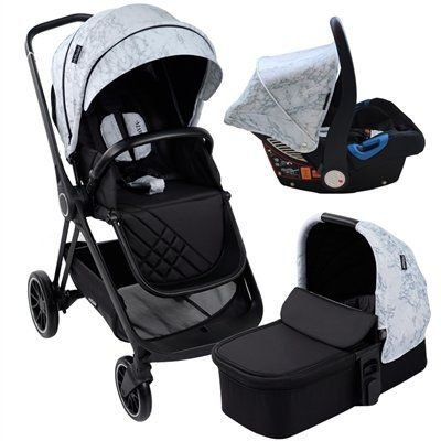 """MAWMA by Nicole """"Snooki"""" Polizzi - MB250 Marble """"Victoria"""" Travel System"""