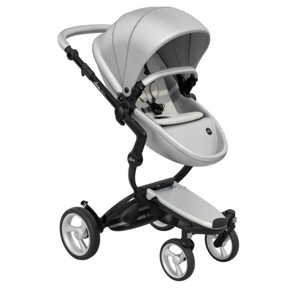 Xari 3-in-1 Pushchair (Argento/Black Chassis)