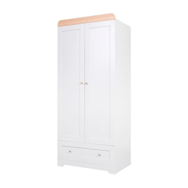 Rio Wardrobe (Dove Grey/Oak)