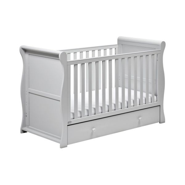 Nebraska sleigh cot bed (grey)