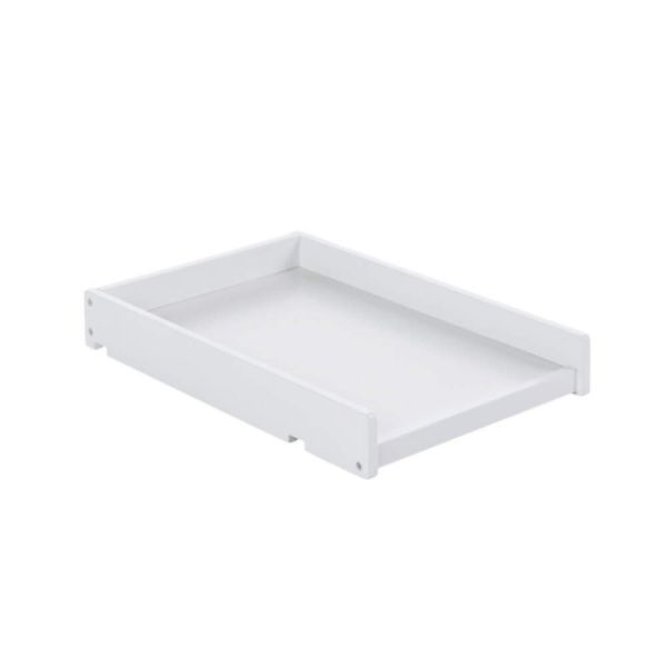 Space Saver Cot Top Changer - White
