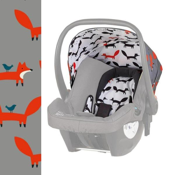 Hold Mix 0+ Car seat Colour Pack Accessories - Mister Fox