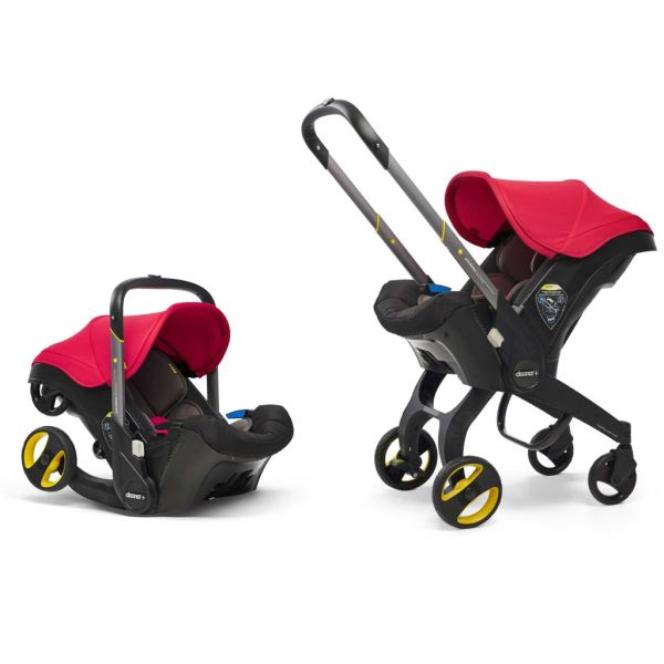 Infant Car Seat Stroller (Flame Red)