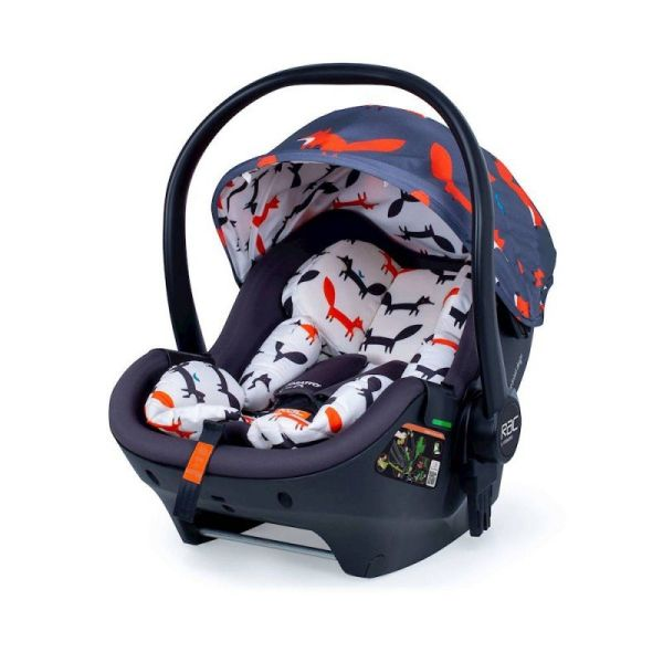 RAC Port Isize 0+ Carseat - Charoal Mister Fox