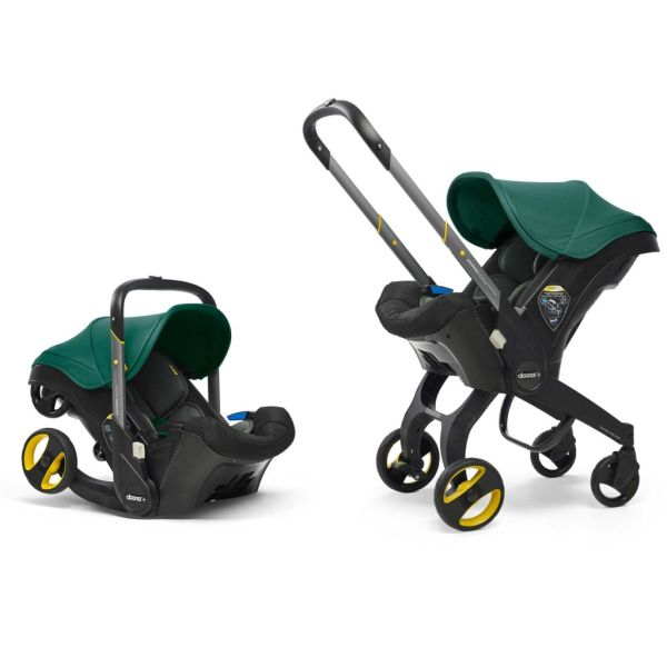 Infant Car Seat Stroller (Racing green)