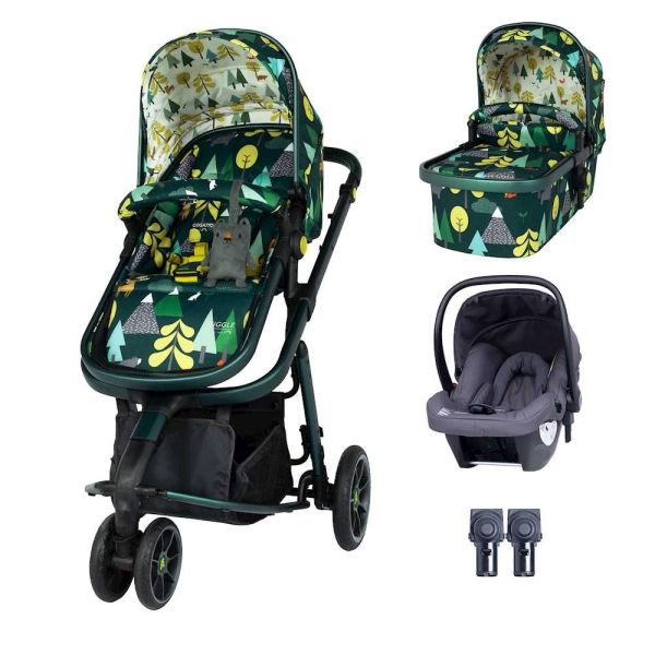 Giggle 3 Hold Travel System Bundle - Into The Wild