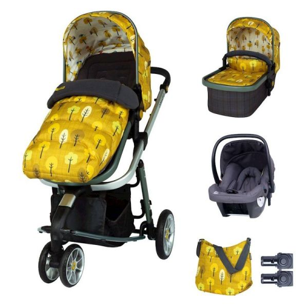 Giggle 3 Marvellous Bundle (5pcs) - Spot the Birdie with Graphite Hold Car Seat