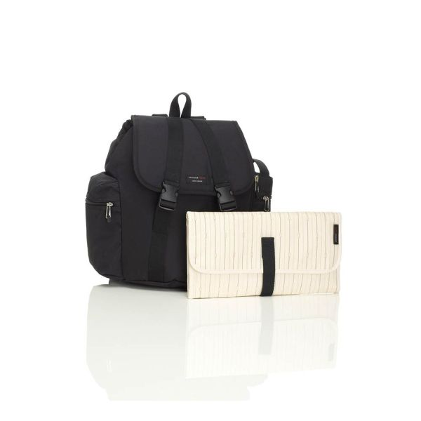 BABY CHANGING BACKPACK (BLACK)