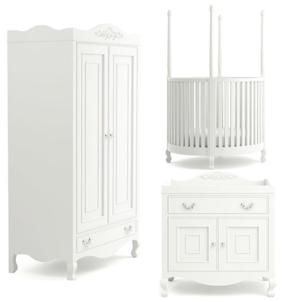 3 Piece Nursery Set (Round)