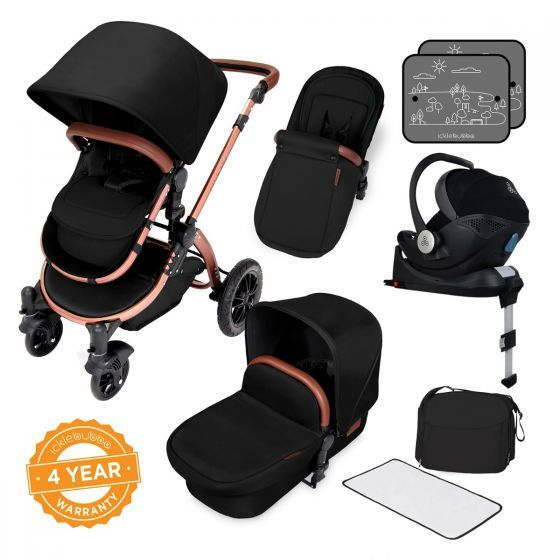 Special Edition Stomp V4 I-Size Mercury Travel System (Midnight Bronze)