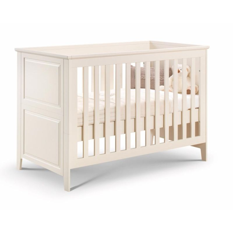 Cameo Cot bed (White lacquer)